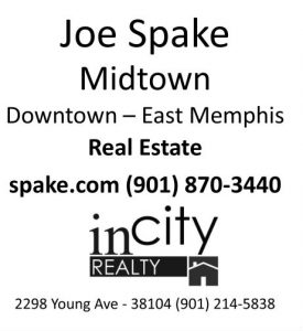 garden walk sponsor joe spake logo