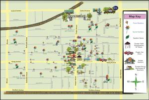 Cooper-Young Garden Walk Map