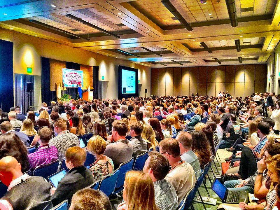 talk audience