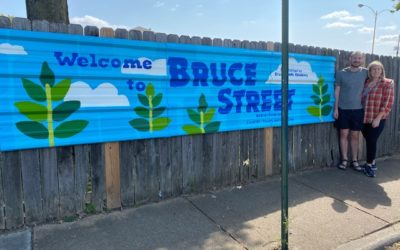 Spruce-Up-Bruce Street Beatification Complete!